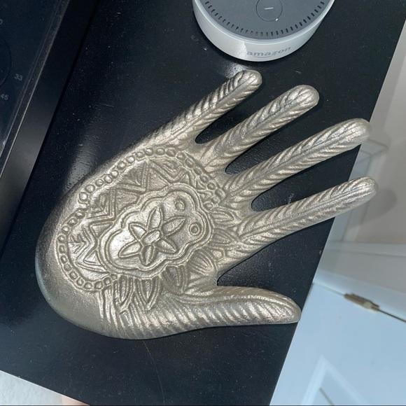 Henna Pattern Hand Catchall